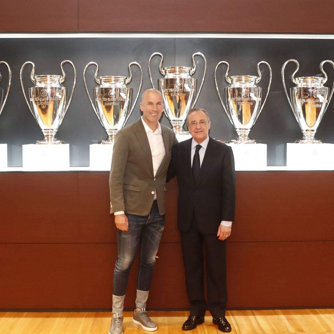 Crédit photo : Page Facebook du Real Madrid
